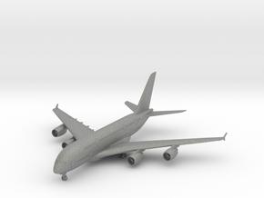 A380 w/Gear (PA12) in Gray PA12: 1:700