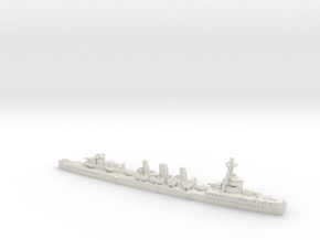 IJN CL Tenryu [1942] in White Natural Versatile Plastic: 1:1800
