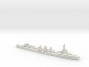 IJN CL Tenryu [1942] in White Natural Versatile Plastic: 1:1800