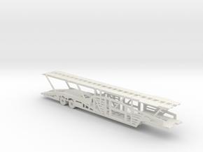 V2 Car Transport Trailer 160 scale. in White Natural Versatile Plastic
