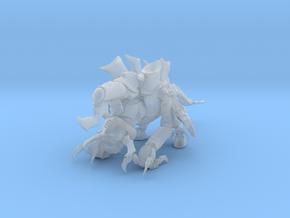 Exodon 01 Offen Meter in Smooth Fine Detail Plastic