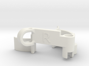 GT-33 SK Launcher String Guard V2 [Right-Spin] in White Natural Versatile Plastic