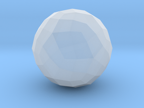 Joined Rhombicosidodecahedron - 10 mm in Smooth Fine Detail Plastic