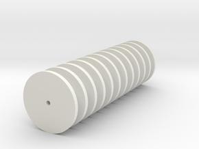 Fliegl Silowalze Teil 2 in White Natural Versatile Plastic: 1:32