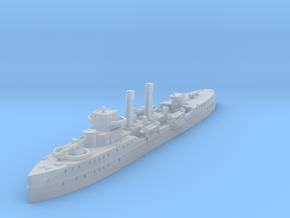 1/1250 HSwMS Clas Fleming (1918/1919) in Smooth Fine Detail Plastic