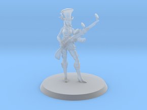 Caitlyn, the Sheriff of Piltover (35mm) in Smooth Fine Detail Plastic