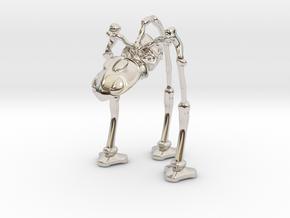 Martian War Machine in Platinum