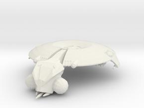Separatist Droid HMP Gunship - Large in White Natural Versatile Plastic