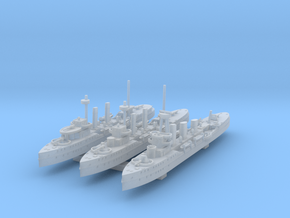 1/1250 HSwMS Clas Fleming Collection in Smooth Fine Detail Plastic