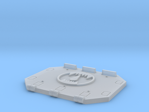 Toothed Mouth Jericho Tank Hatch #2 in Smooth Fine Detail Plastic