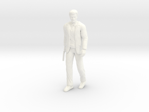 Clint Eastwood - Dirty Harry - Walking - 1.18 in White Processed Versatile Plastic