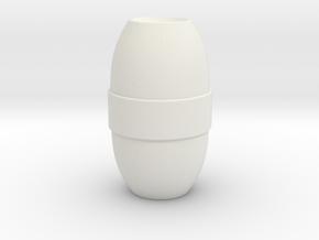 M.a.s.k - Gator - Barrel Bomb in White Natural Versatile Plastic