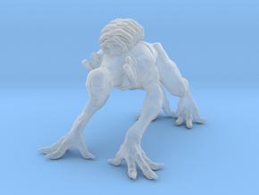 Mutant Crawler miniature model fantasy games dnd in Smooth Fine Detail Plastic