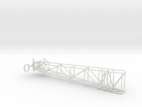 1/110 Scale Atlas D and E Erector Arm in White Natural Versatile Plastic
