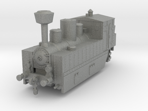 Locomotive 178 armored 1:120 in Gray PA12