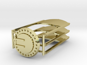 7mm Ferry wagon detail set in 18K Gold Plated