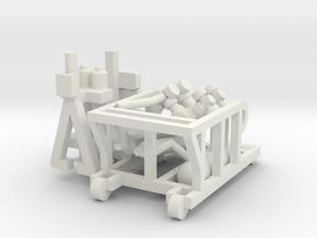 1/144 Anlasswagen for V1 in White Natural Versatile Plastic