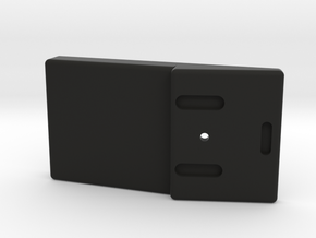 Sensorcon CO detector mount in Black Natural Versatile Plastic