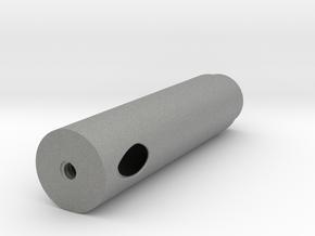 22-25mm Tubemount 1/4 TriSonica Mini Adapter in Gray PA12