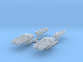 Gaslands Machine Gun Selection in Smooth Fine Detail Plastic