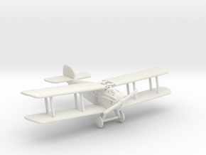 Sopwith Dolphin (various scales) in White Natural Versatile Plastic: 1:144