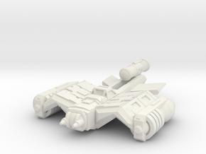 Strike Bat 71mm in White Natural Versatile Plastic