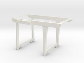 BCI Crane N scale in White Natural Versatile Plastic