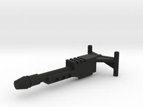 M.a.s.k. - Gator - Gun in Black Natural Versatile Plastic