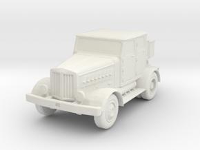 Hanomag SS100 LN 1/87 in White Natural Versatile Plastic