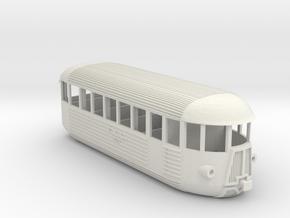 FCL M1c87   Piaggio in H0 in White Natural Versatile Plastic