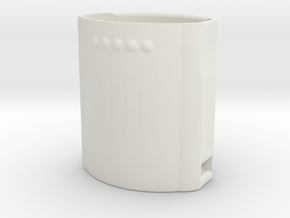 Ricoh Theta Z1 lens cap in White Natural Versatile Plastic