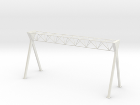 Dutch Style Highway Portal (n-scale) in White Natural Versatile Plastic