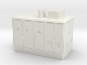 Mobile Trafo (1:160) in White Natural Versatile Plastic