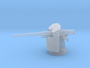 1/100 Italian 120 mm (4.7 in)/40 gun in Smooth Fine Detail Plastic