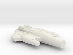 3125 Scale ISC Heavy War Cruiser (HCW) SRZ in White Natural Versatile Plastic