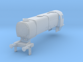 b-148fs-q1-loco-body in Smooth Fine Detail Plastic