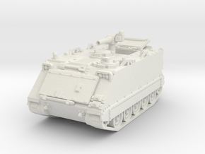 M113 A1 TOW Carrier 1/72 in White Natural Versatile Plastic