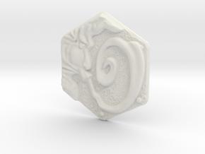 Resident Evil Remake Wind Crest in White Natural Versatile Plastic