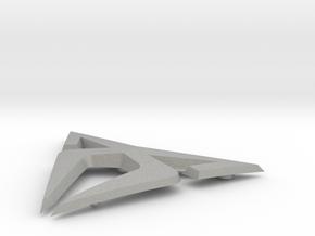 """Facelift Cupra Front """"S"""" Badge - Logo Part in Aluminum"""