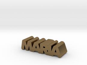 Maria in Natural Bronze