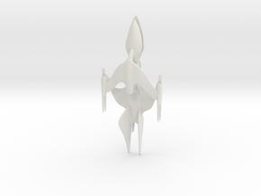 Whitestar - 15cm in White Natural Versatile Plastic