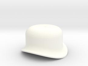 """3/4"""" Scale Caribou to USRA Steam Dome in White Processed Versatile Plastic"""