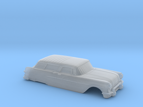 38mm Wheelbase 1957 Pontiac Safari Shell in Smooth Fine Detail Plastic