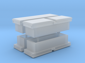 1:64 Truck Toolboxes - Sample Pack in Smooth Fine Detail Plastic