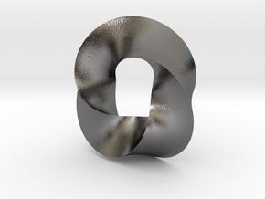 Trius in Polished Nickel Steel