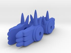 Antron Feet in Blue Processed Versatile Plastic