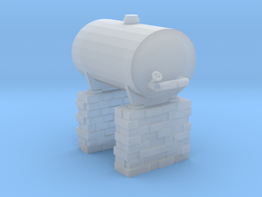 OO9 Fuel Tank in Smooth Fine Detail Plastic