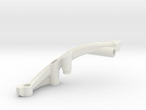 7060 - FF210 Front Bulkhead (Left) in White Natural Versatile Plastic