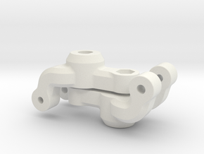7066 - FF210 Rear Axle Holder in White Natural Versatile Plastic