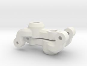 7066 - FF210 Rear Axle Holder in White Natural Versatile Plastic